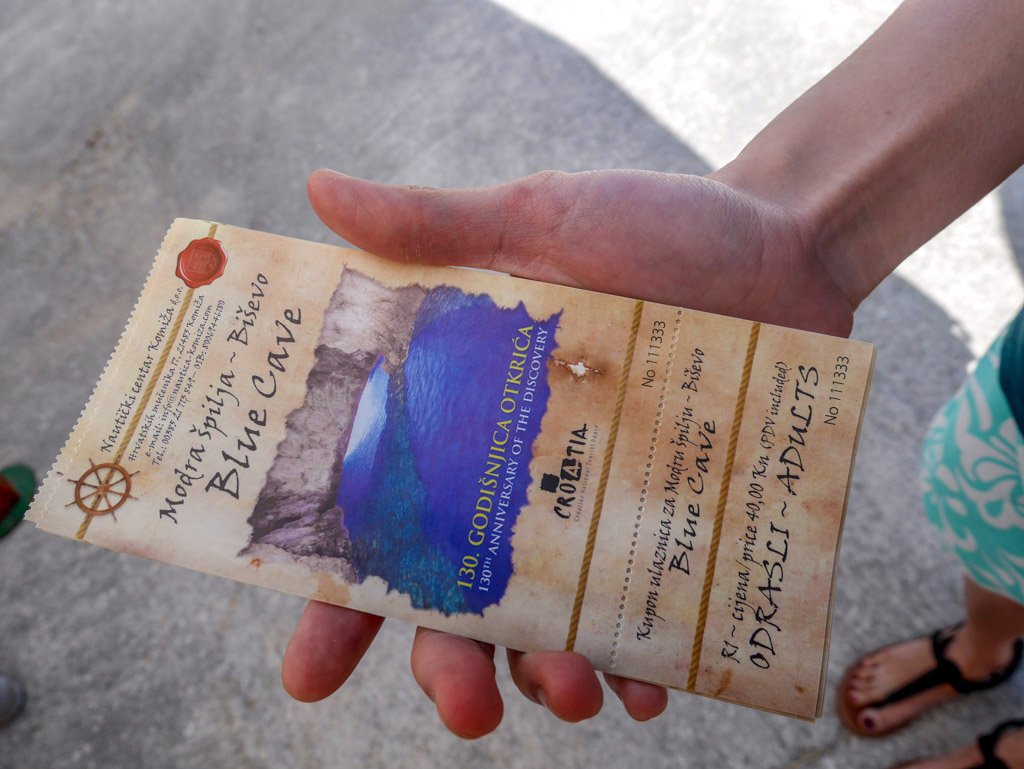 tickets to split blue cave croatia