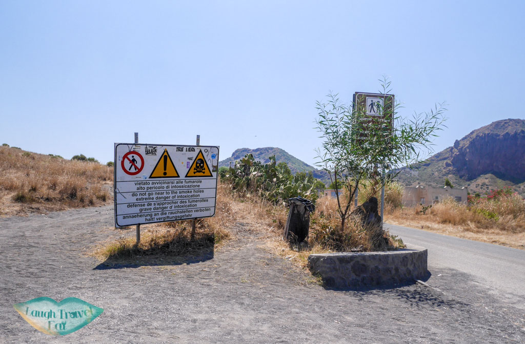 warning-for-hike-up-to-Vulcano-aeolian-islands-sicily-italy-laugh-travel-eat