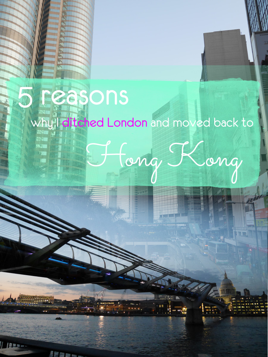 Hong Kong vs London - 5 reasons why I ditched London and moved back to Hong Kong. A lot of people I know had a clear preference, but I didn't. Ultimately - I chose Hong Kong because... well, read on! | Laugh Travel Eat