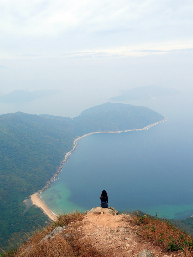 Sharp Peak, Sai Kung, Hong Kong. One of the most challenging hike of Hong Kong, it can lead you to some beautiful beaches in the remote part of Sai Kung
