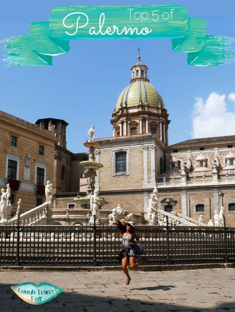 Top 5 of Palermo, Sicily, Italy. A city with 2,700 years of history