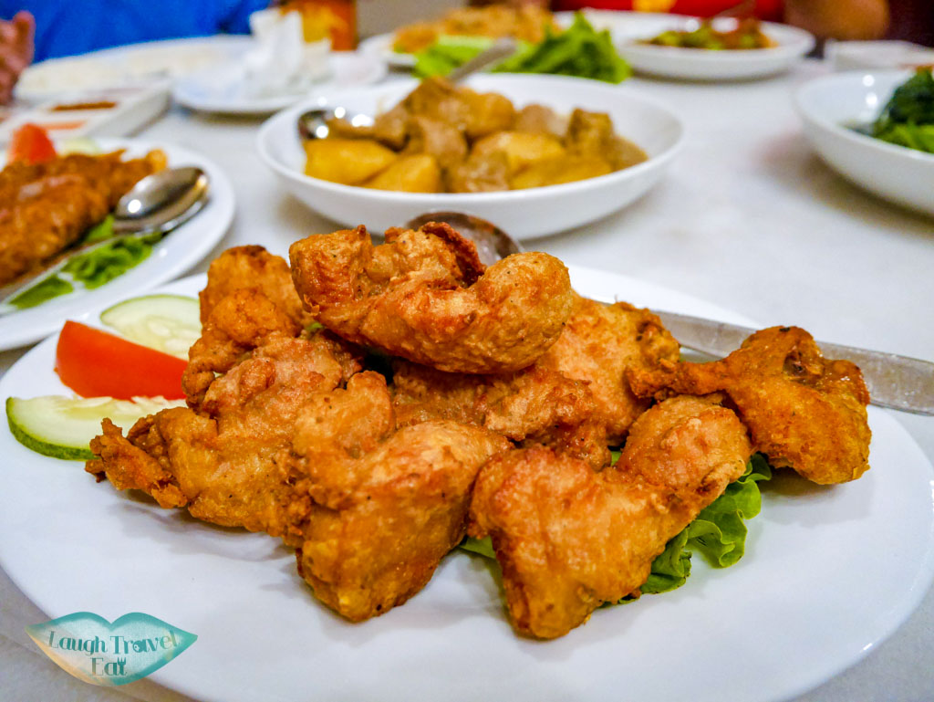 Deep fried chicken marinated with shrimp paste: heavenly taste!   Laugh Travel Eat
