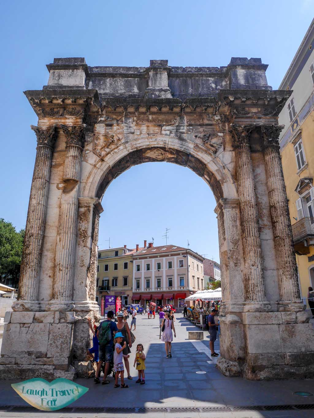 The-Triumphal-Arch-of-Sergius-Pula-Croatia-Laugh-Travel-Eat