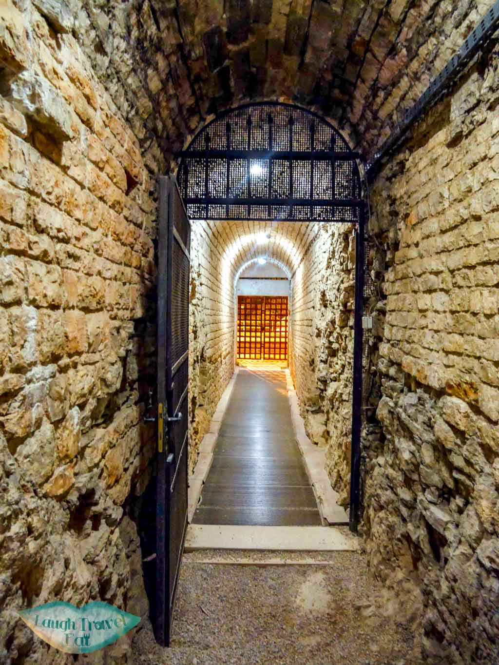 corridor-under-pula-arena-Pula-Croatia-Laugh-Travel-Eat