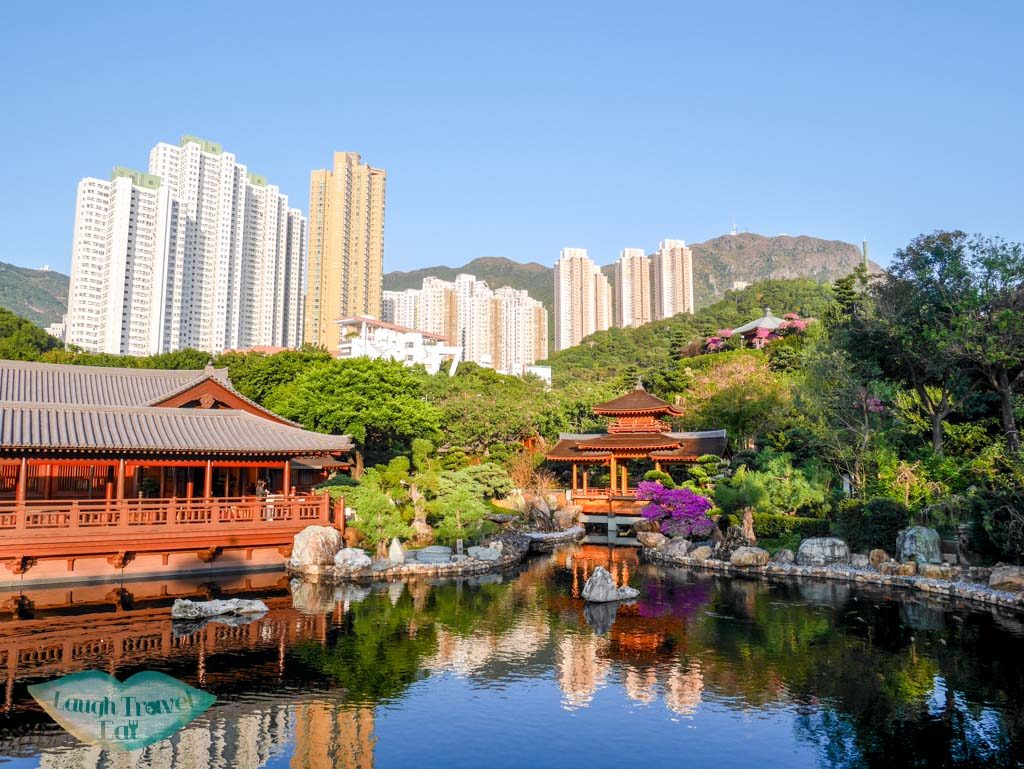 nan lian garden pond kowloon hong kong - laugh travel eat
