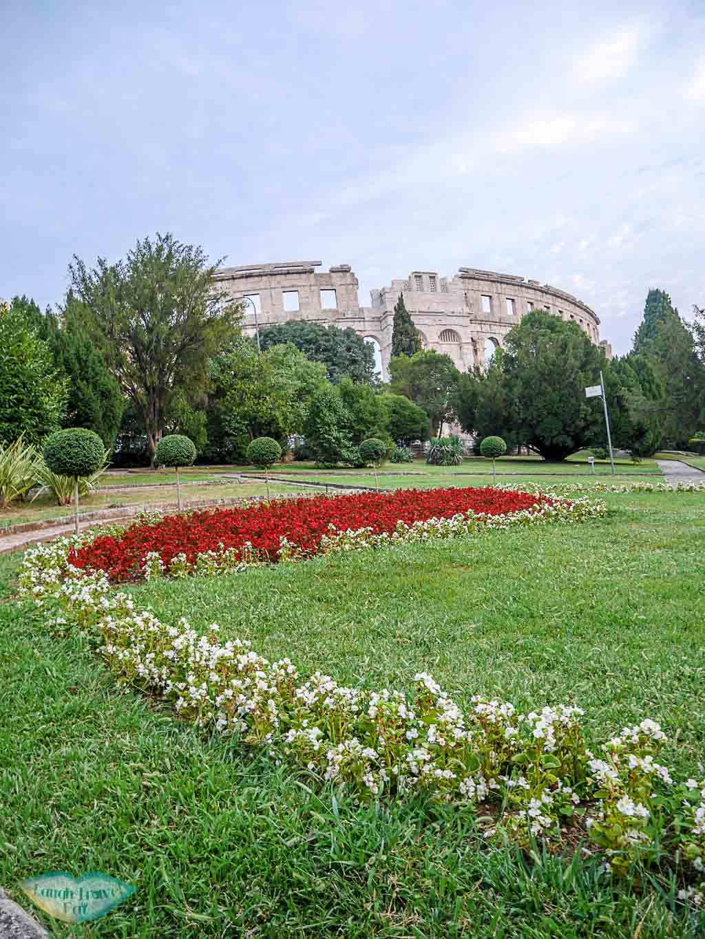 pula-arena-with-garden-in-front-pula-croatia