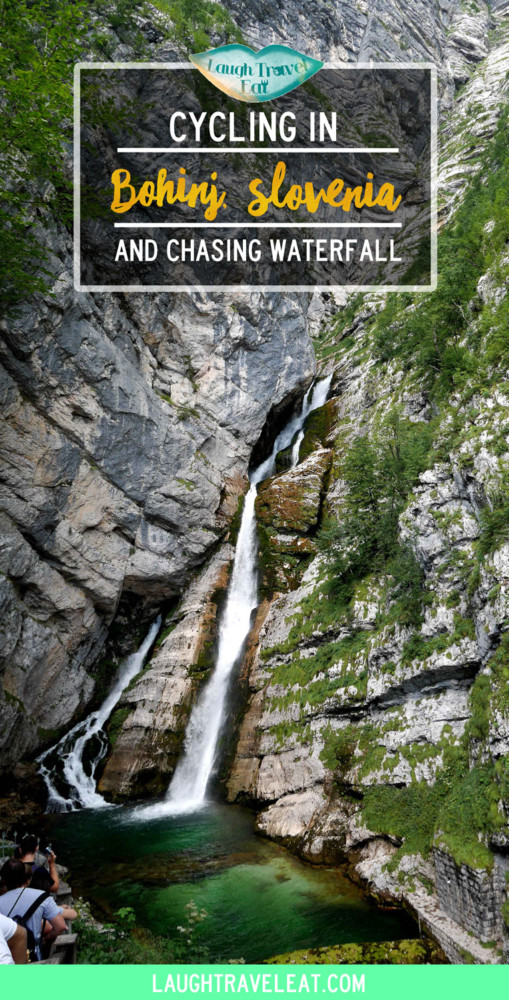Cycling in Bohinj: chasing waterfall, Slovenia | Laugh Travel Eat