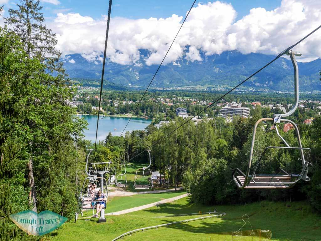ski lift or carlift operating in the supper up to the hill bled | Laugh Travel Eat