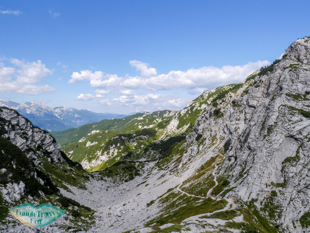 increasingly barren path atop vogel ski center bohinj slovenia - laugh travel eat