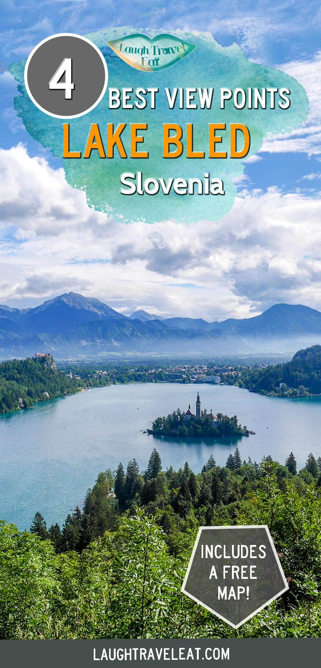 4 best viewpoints of Lake bled Slovenia | Laugh Travel Eat