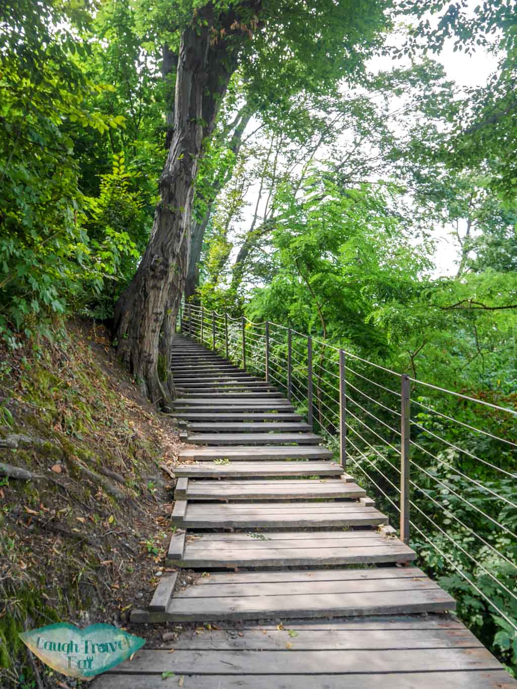 stairs-up-to-ljubljana-castle-Ljubljana-Slovenia-laugh-travel-eat