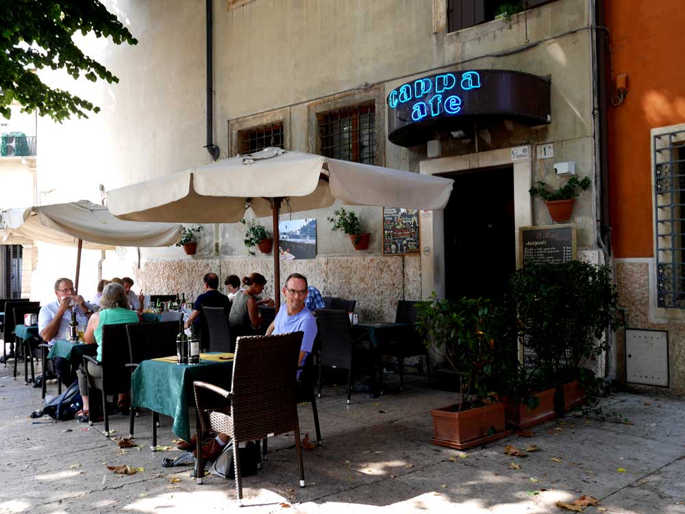 Cappa Cafe, Verona, Italy | Laugh Travel Eat