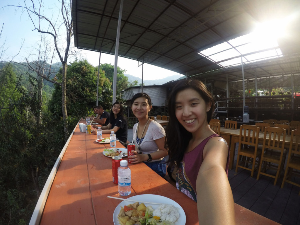 Buffet lunch at Skyline adventure with a view at Chiang Mai | Laugh Travel Eat