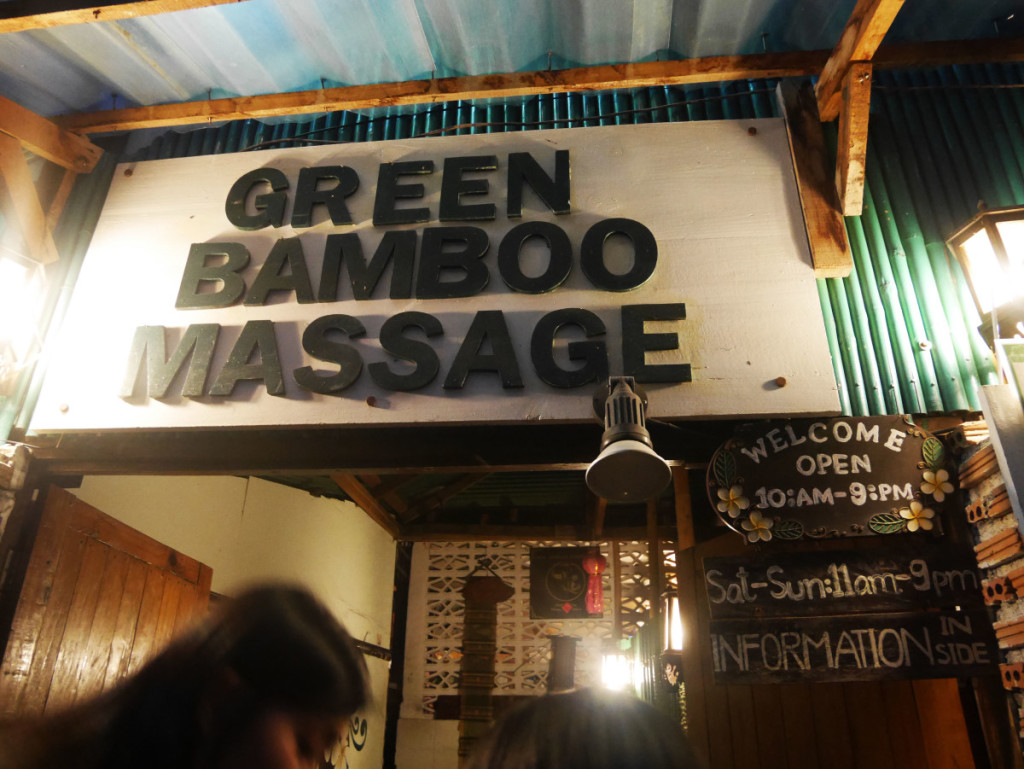 Green Bamboo Massage at Chiang Mai | Laugh Travel Eat