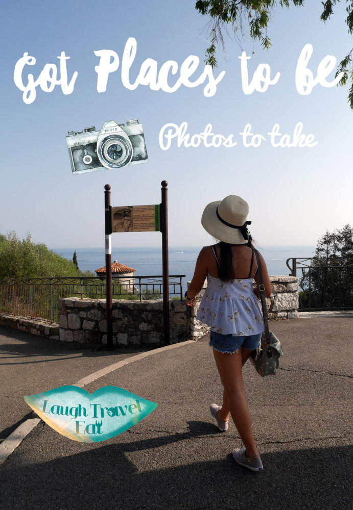 Places to be, photos to take