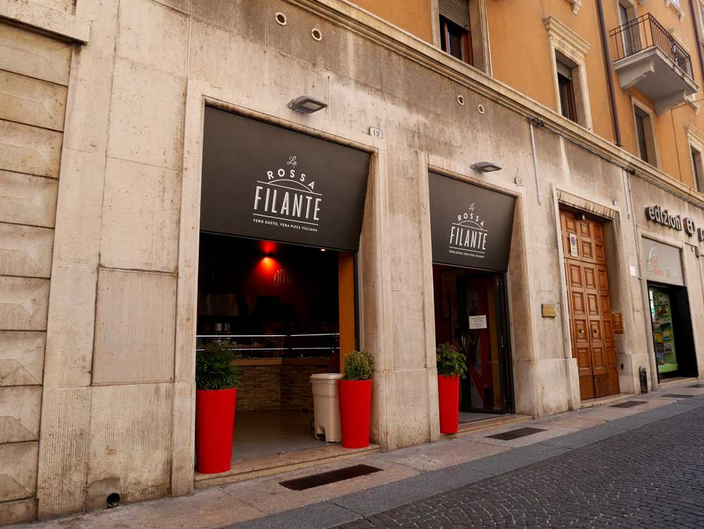 Rossa Filante, Verona, Italy | Laugh Travel Eat