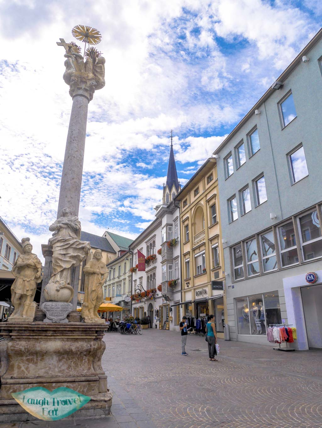 Trinity-column-Villach-Austria-Laugh-Travel-Eat