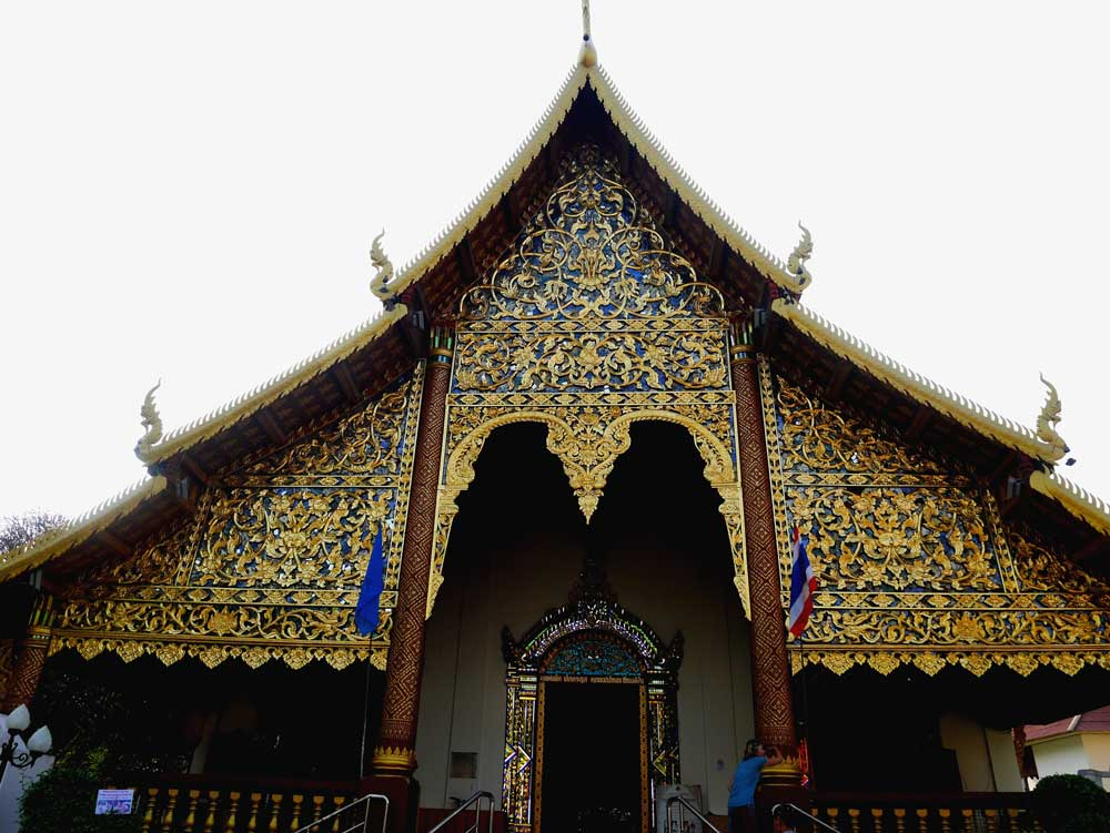 Wat Chiang Man Temple, Chiang Mai, Thailand | Laugh Travel Eat