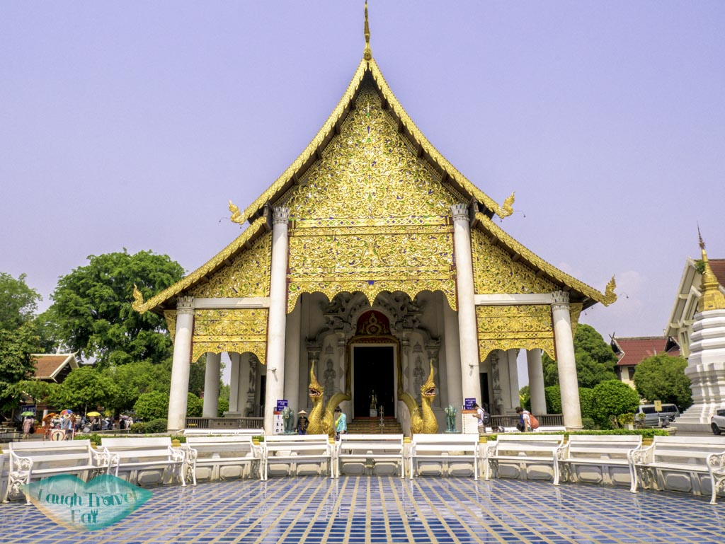 Wat Ho Tham in the Wat Chedi Luang temple complex, Chiang Mai, Thailand | Laugh Travel Eat