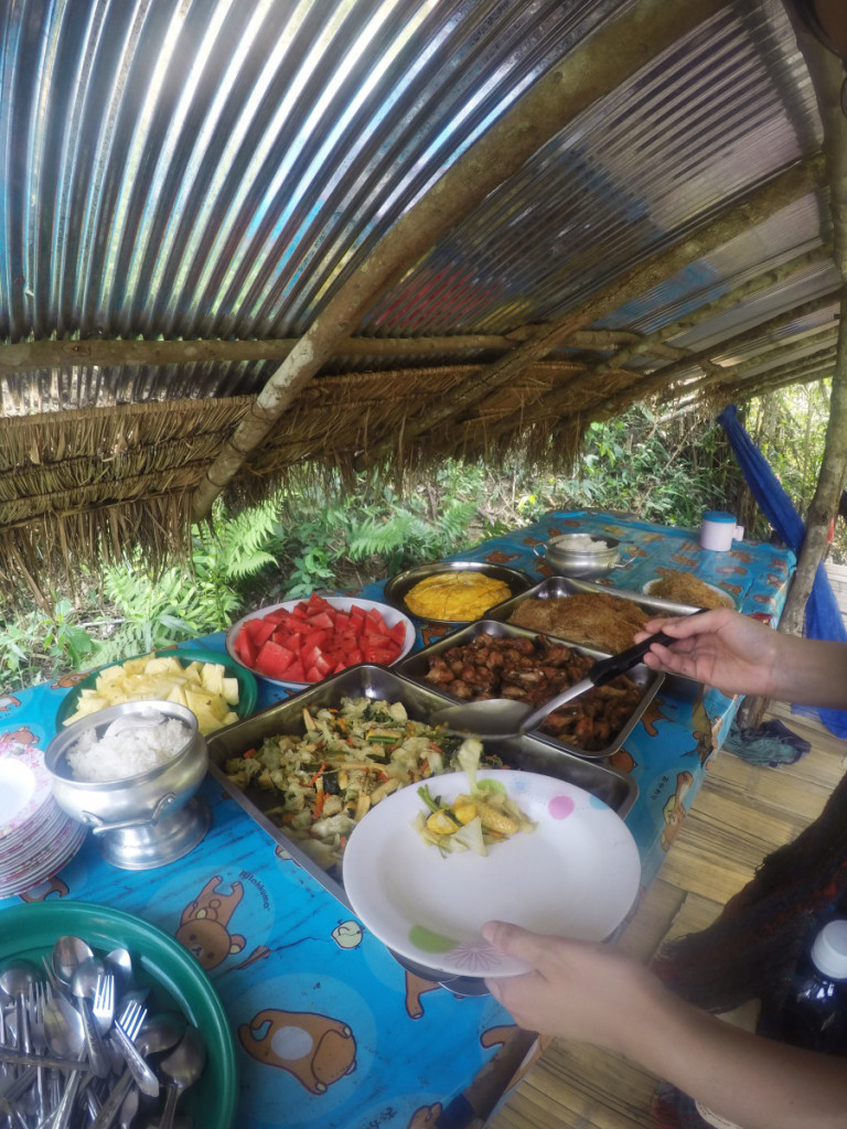 Buffet lunch at Elephant Jungle Santuary | Laugh Travel Eat