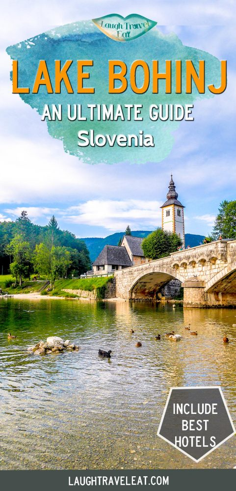 Lake Bohinj is not far from Lake Bled and a total hidden gem in Slovenia, here's what to see, do, and stay around the largest permanent lake in Slovenia #slovenia #lakebohinj