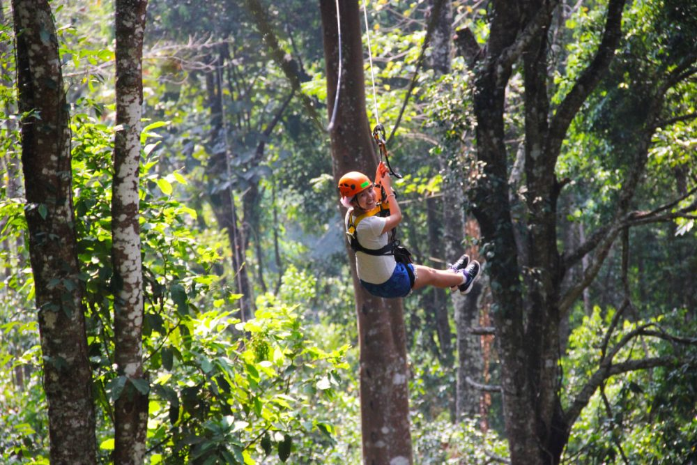 Zip lining with Skyline Adventure, Chiang Mai | Laugh Travel Eat