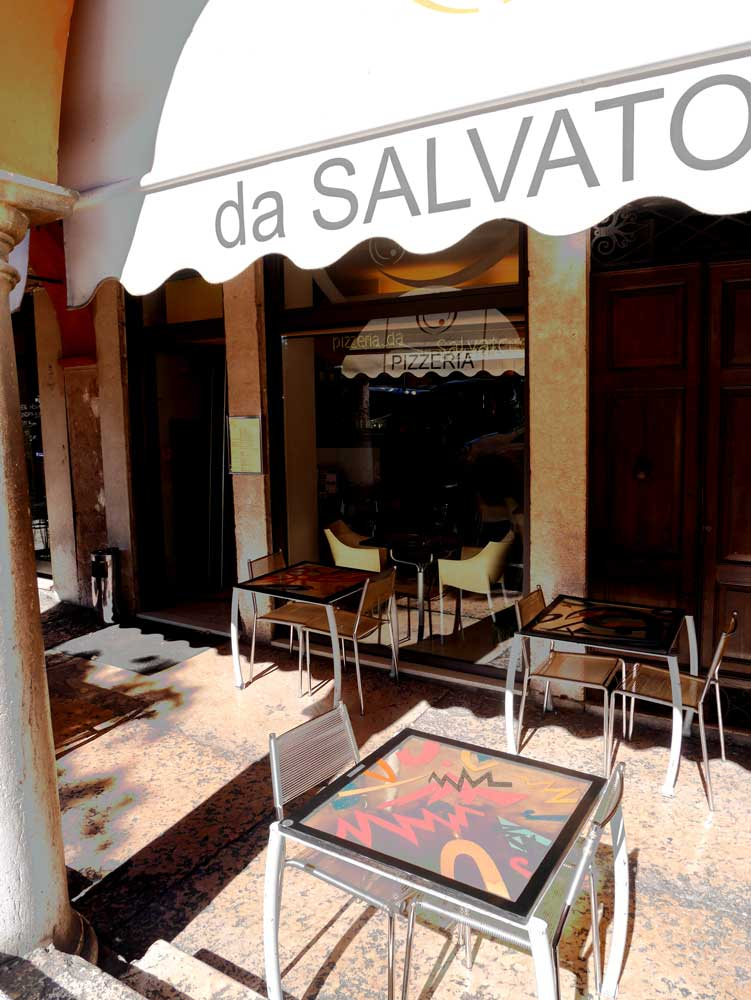 Pizzeria da Salvatore, Verona, Italy | Laugh Travel Eat