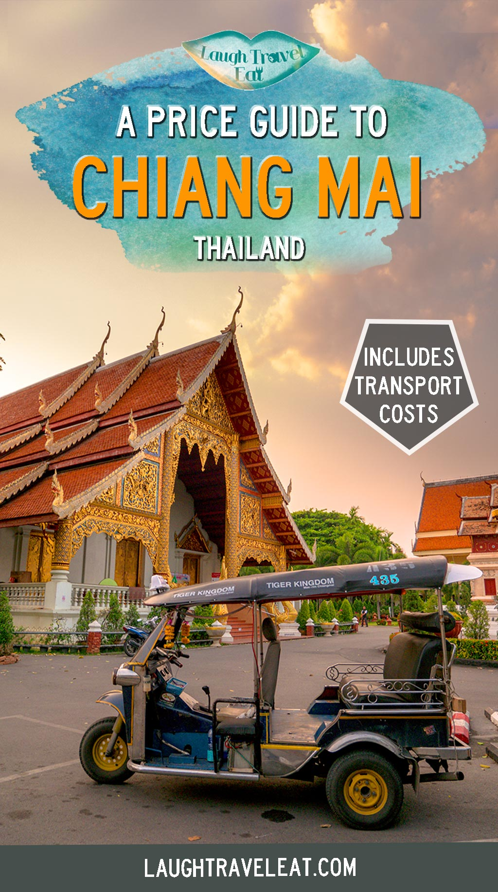 The ultimate price guide to Chiang Mai's food, transport, massage, clothes, and souvenir, making sure that you wouldn't be scammed in markets #ChiangMai #Thailand #PriceGuide