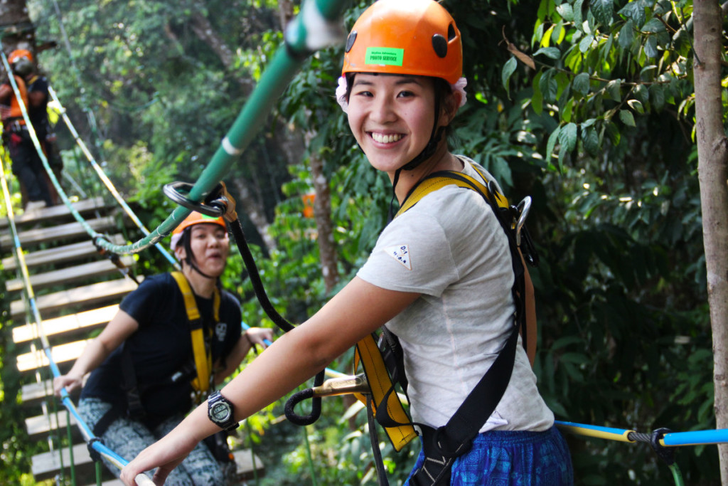 having fun at Skyline Adventure, chiang mai | Laugh Travel Eat