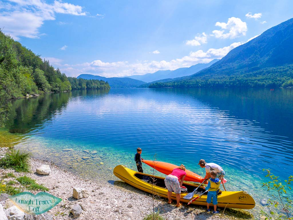 west bank of Lake Bohinj, Bohinj region, Slovenia - Laugh Travel Eat