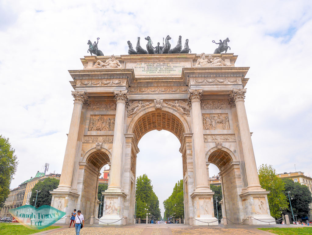 Arch of Peace, Milan, Italy - laugh travel eat