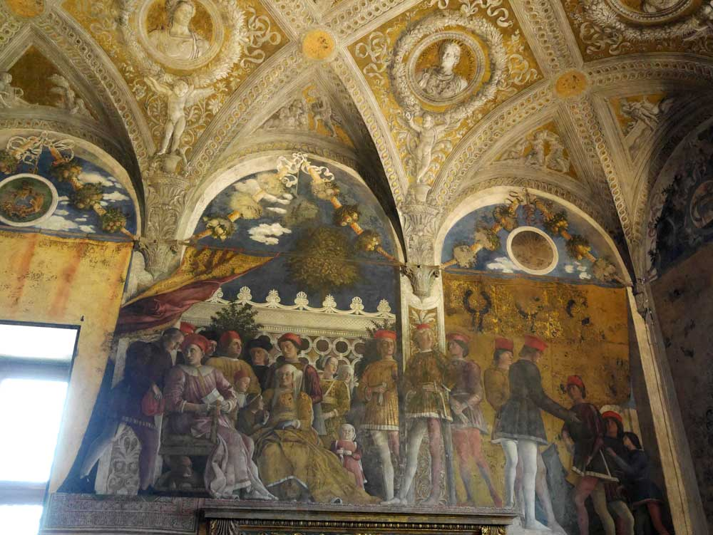 Camera degli Sposi fresco, Castle of St George, Ducal Palace, Mantua, Italy | Laugh Travel Eat