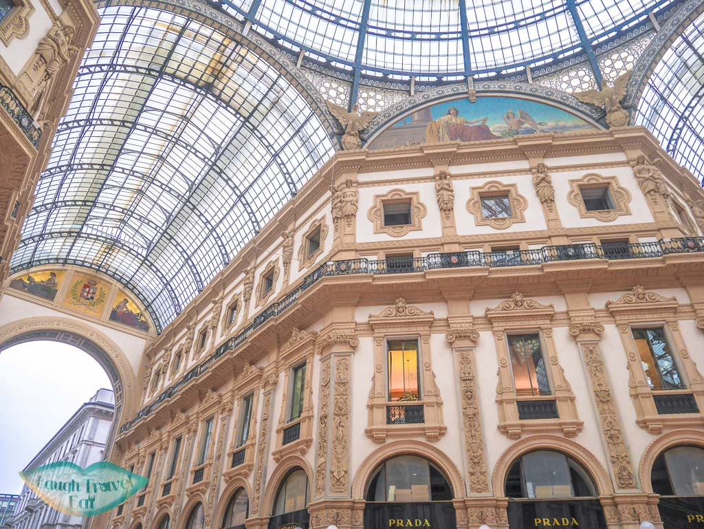 Galleria Vittorio Emanuele II, Milan, Italy - laugh travel eat