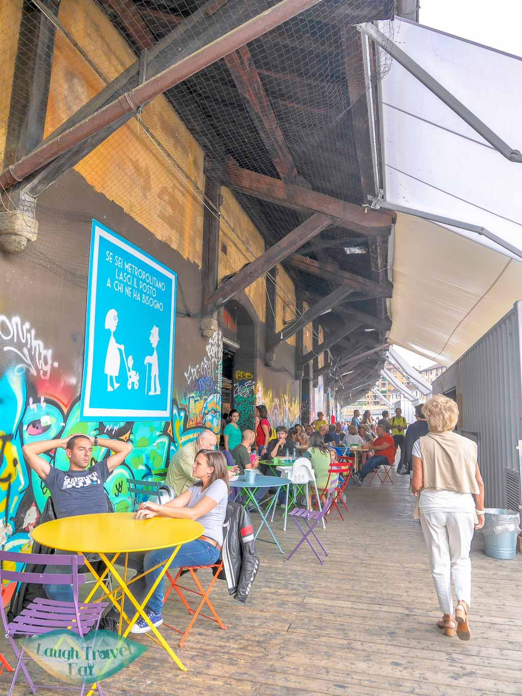 Mercato Metropolitano, Milan, Italy - Laugh Travel Eat