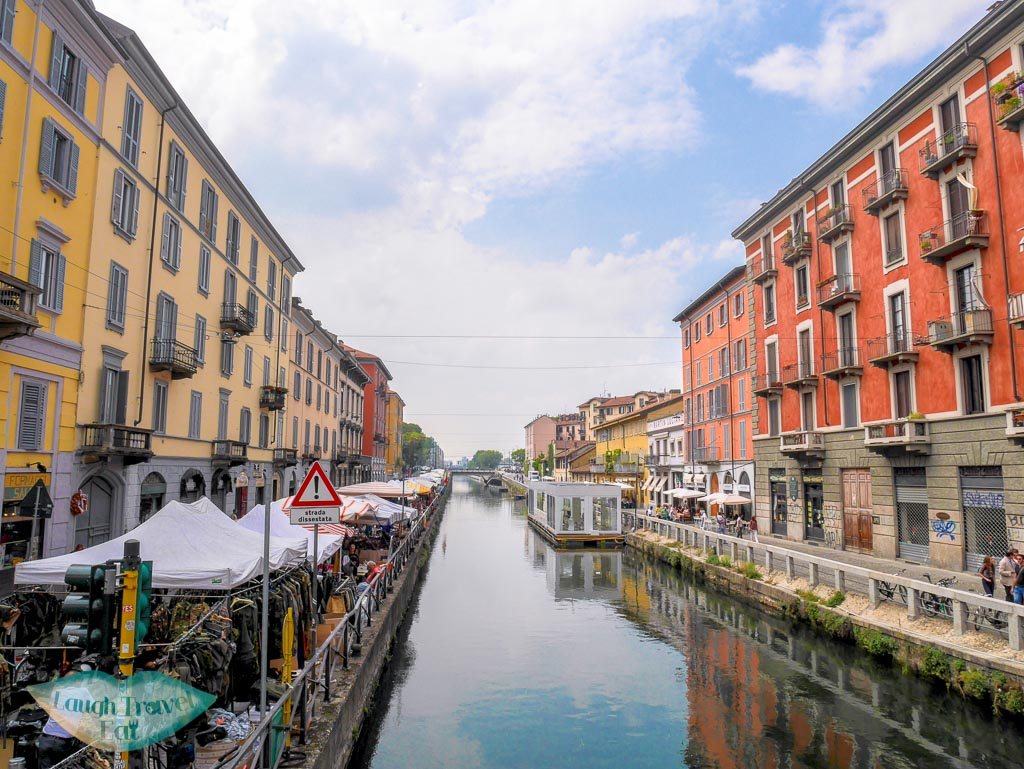 Naviglia Grande, Milan, Italy - Laugh Travel Eat