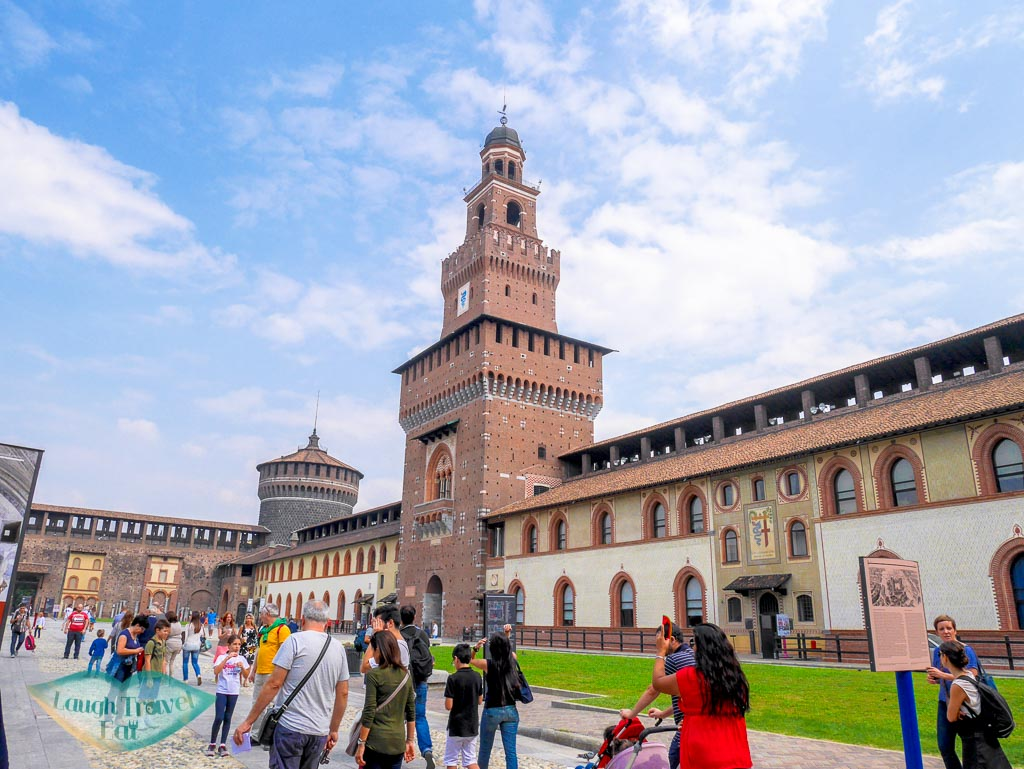 Sforza Castle, Milan, Italy - laugh travel eat
