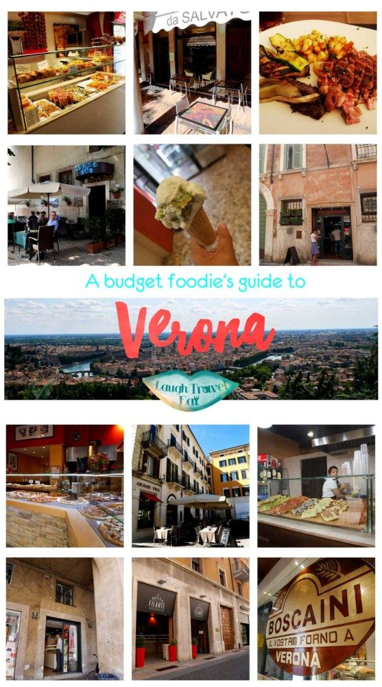 A budget foodie's guide to Verona, Italy! Including pizza, pasta, gelato and restaurants that had me go back time and time again. #Verona #Italy #food