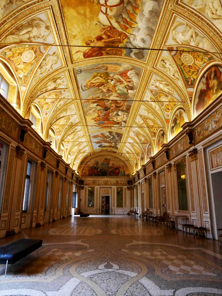 hall of the mirrors, Ducal Palace, Mantua, Italy | Laugh Travel Eat