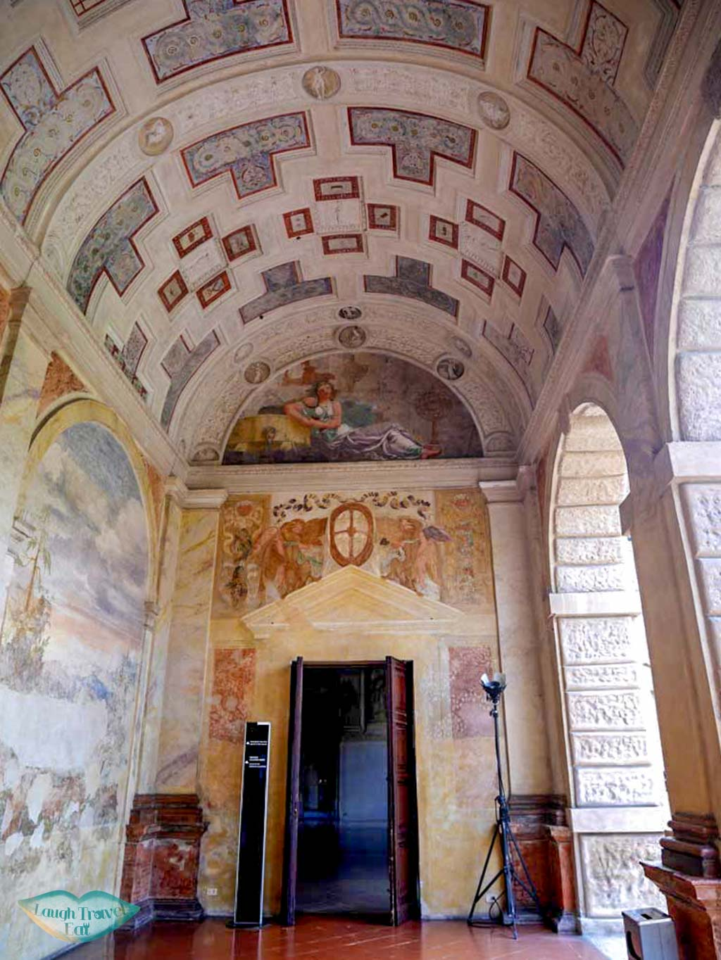 Loggia di Muses, Palazzo Te, Mantua, Italy | Laugh Travel Eat
