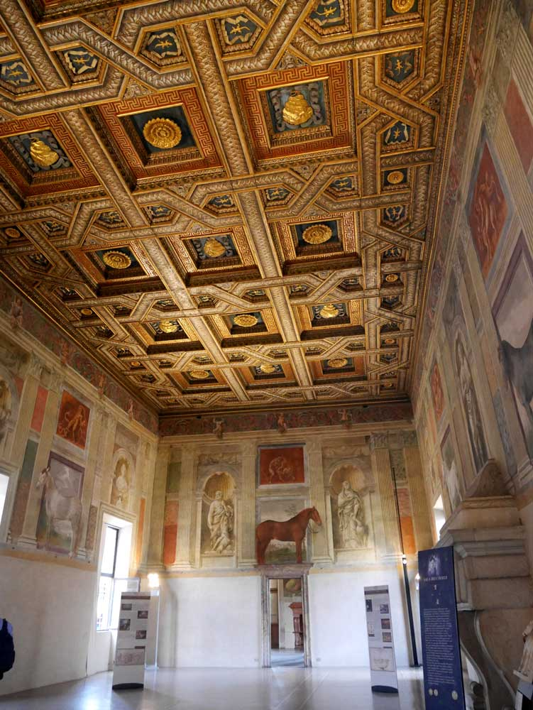 Chamber of Horses, Palazzo Te, Mantua, Italy | Laugh Travel Eat