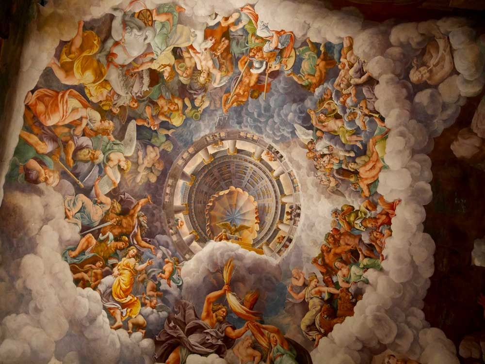 Chamber of Giant, Palazzo Te, Mantua, Italy | Laugh Travel Eat