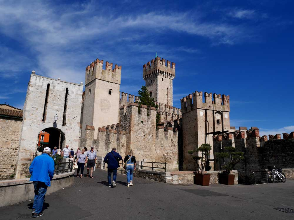 The Scarliger Castle, Sirmione, Italy | Laugh Travel Eat