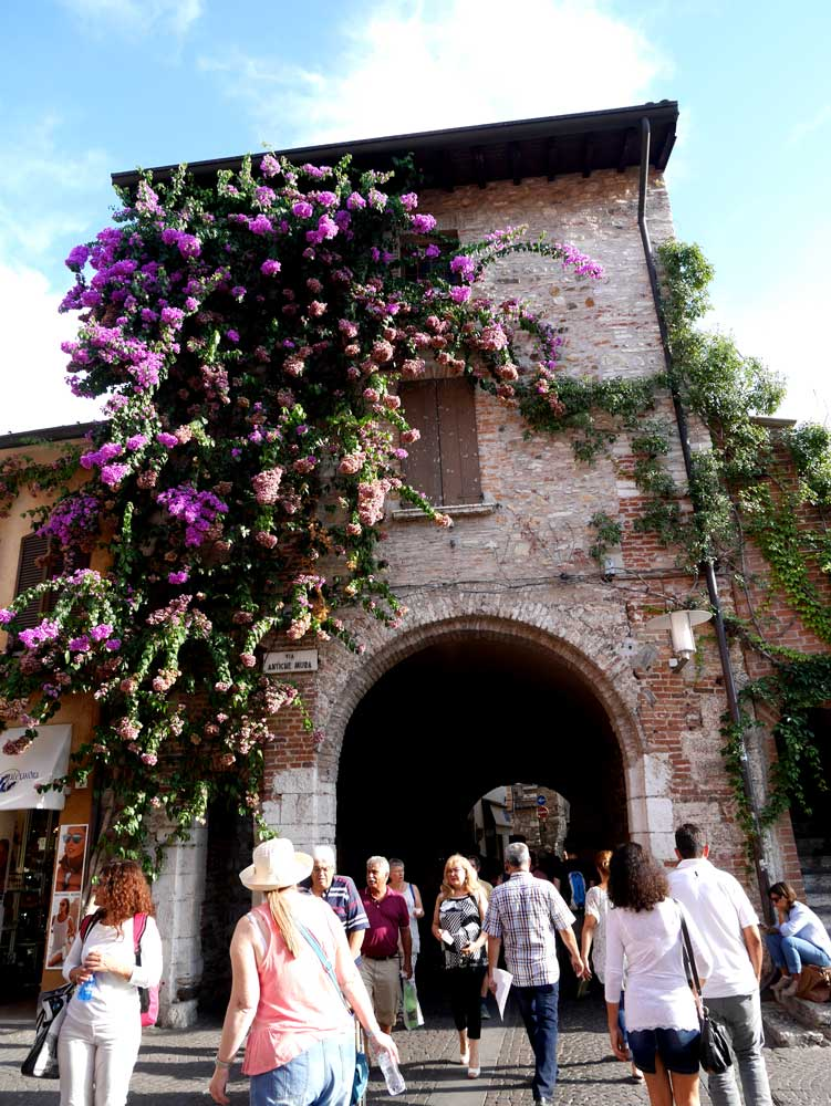 Medieval building at Sirmione, Italy | Laugh Travel Eat