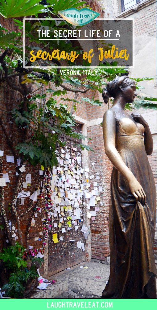 Juliet's Club has been made famous by the movie Letters to Juliet. Recently, people began writing to her. And I helped answer. #JulietClub #Verona #Italy