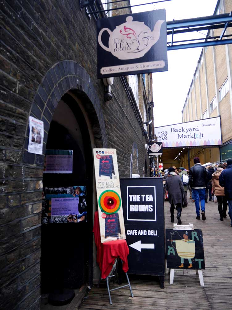 More quirky little market in Brick Lane, East London, UK | Laugh Travel Eat