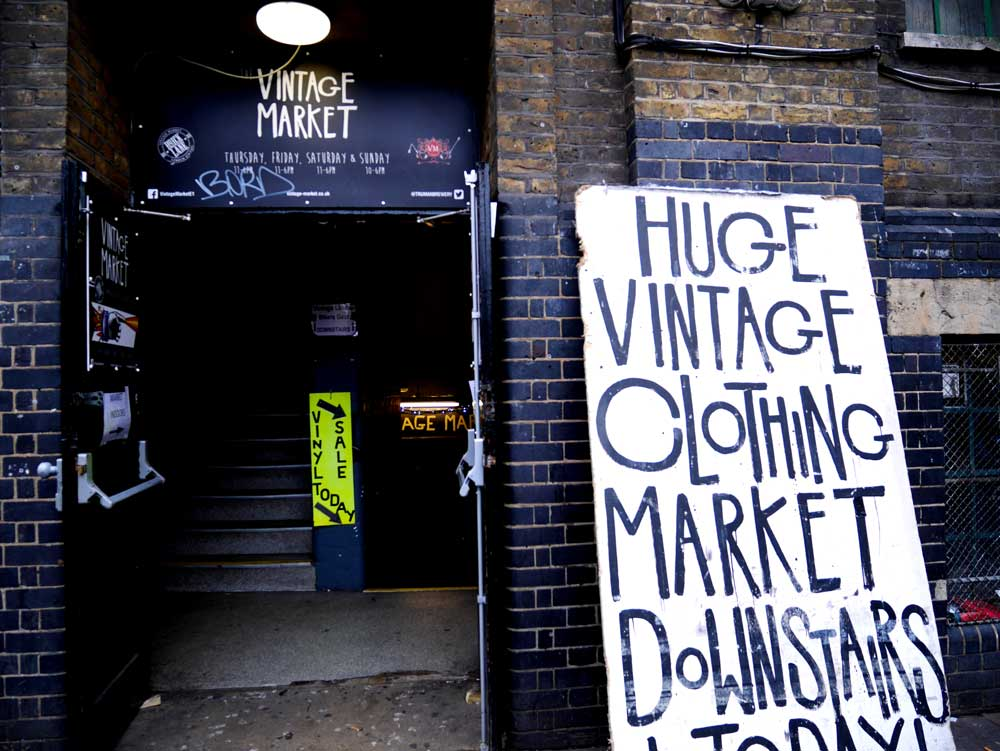 Vintage Market in Brick Lane, East London, UK | Laugh Travel Eat