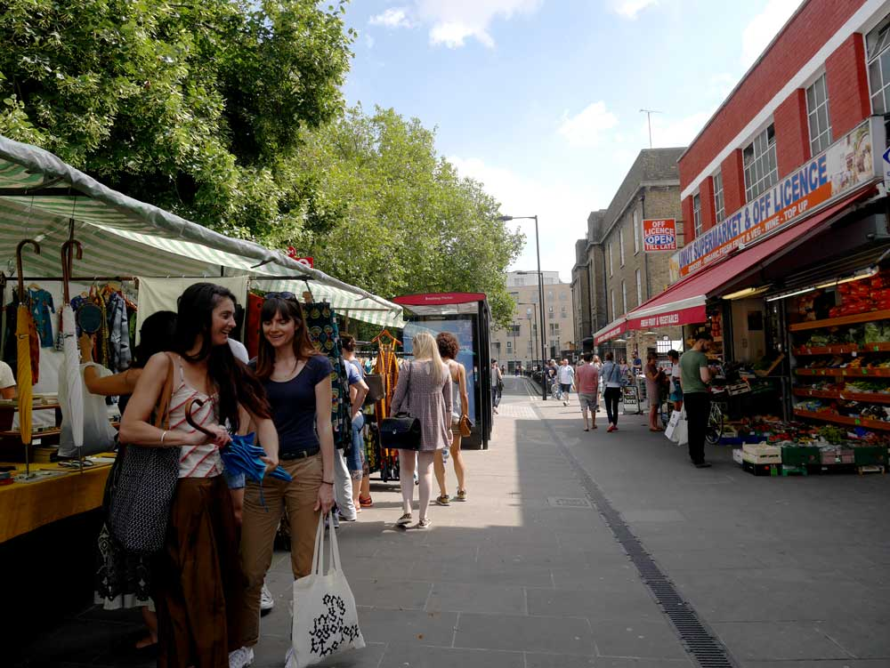 Broadway Market, East London, UK | Laugh Travel Eat