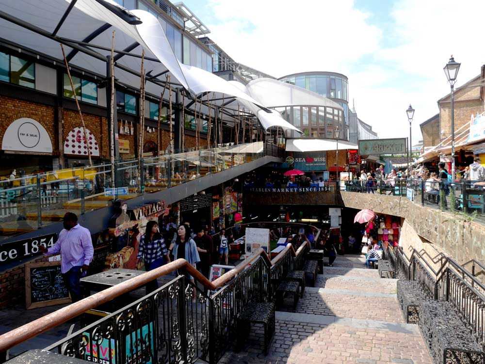 Camden Lock Market, Camden Town, London, UK | Laugh Travel Eat