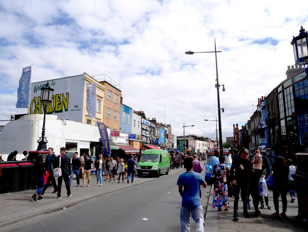 Camden Town is no strangers to colourful houses as well!, Camden Town, London, UK   Laugh Travel Eat