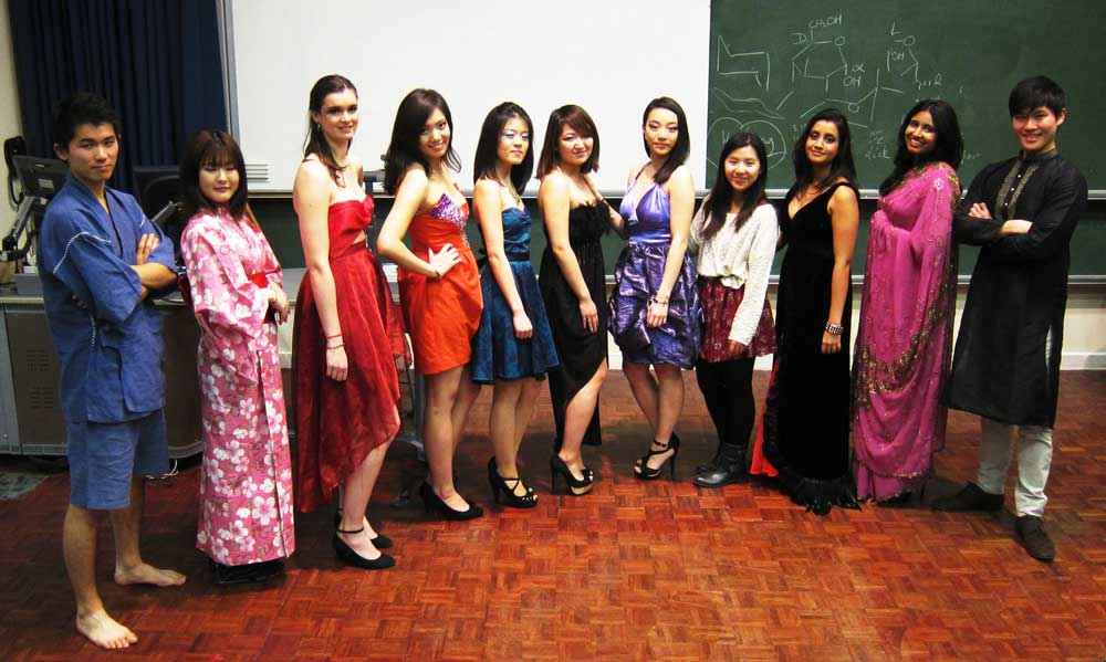 My university's international night!
